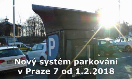 Spuštěn nový systém parkování v Praze 7
