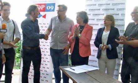 TOP09 a STAN společně do voleb v Praze 7