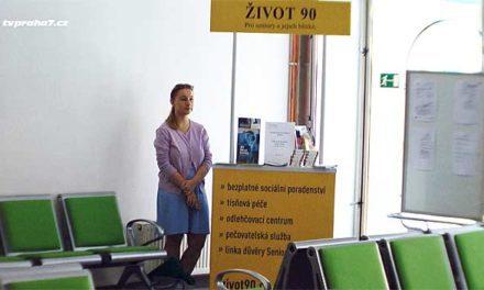 Informační koutek sociálních služeb pro seniory v Poliklinice Praha 7