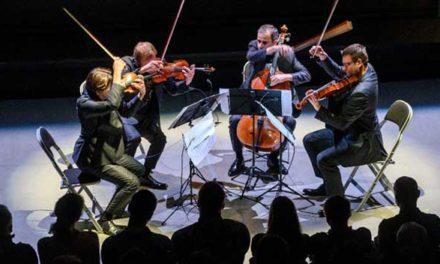 Koncerty soudobé vážné hudby v DOXu