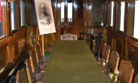 Jedinečný císařský vagon Františka Jozefa I. v NTM