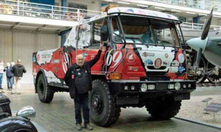 """Vítězná Tatra 815 """"Puma"""" z Rallye Dakar je už k vidění v NTM"""