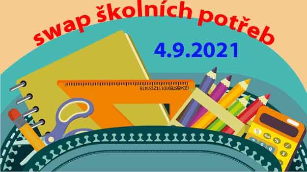 Swap školních potřeb na Výstavišti Praha zahájí začátek školního roku